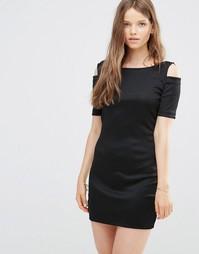 Платье с открытыми плечами JDY - Черный