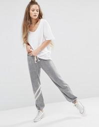 Трикотажные штаны с полосками Ocean Drive - Серовато-стальной