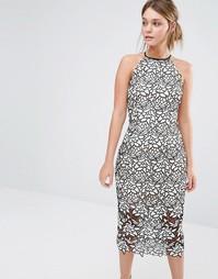 Кружевное платье миди Keepsake Love