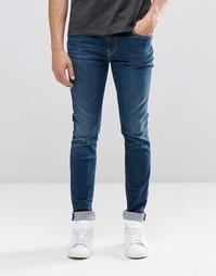 Темные зауженные джинсы Pepe Nickel I47 - Темно-выбеленный