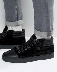 Высокие кроссовки Glorious Gangsta Paris - Черный