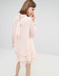 Платье Lost Ink - Розовый