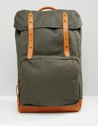Парусиновый рюкзак цвета хаки ASOS - Хаки