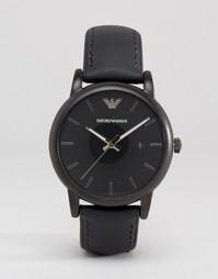 Часы с силиконовым ремешком Emporio Armani AR1973 - Черный