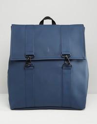 Синий рюкзак Rains MSN - Синий