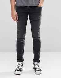 Черные джинсы скинни Pepe Finsbury D91 - Black used