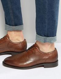 Кожаные туфли Hudson London Twain - Рыжий