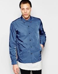 Синяя нейлоновая спортивная куртка Cheap Monday - Безумный синий