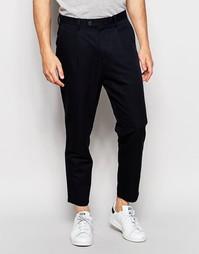 Укороченные брюки Minimum - Темно-синий