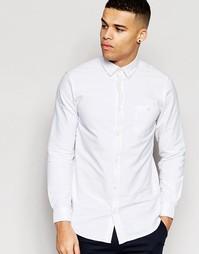 Рубашка зауженного кроя WeSC Lye - Белый