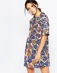 Свободное платье с пайетками Ivana Helsinki Irene - Разноцветный