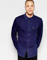 Рубашка слим с длинными рукавами Original Penguin - Синий