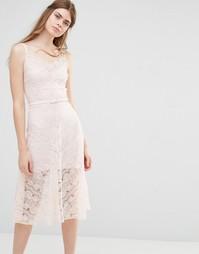 Свадебное платье Body Frock Dahlia - Blush