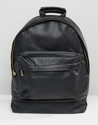 Черный рюкзак из искусственной кожи Mi-Pac Tumbled - Черный