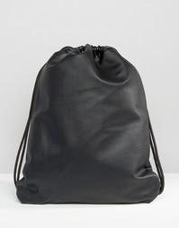 Черная сумка из искусственной кожи Mi-Pac Tumbled - Черный