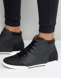 Черные высокие кроссовки Aldo Bonica - Черный