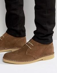 Замшевые ботинки чукка Dune Calabassas - Бежевый