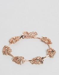 Браслет с цветочным дизайном Bill Skinner - Розовое золото