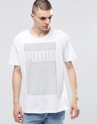 Удлиненная футболка PUMA Evo S6 - Белый