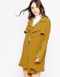 Легкая куртка Liquorish - Горчичный