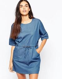 Джинсовое платье Goldie Symetry - Синий
