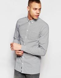 Рубашка с карманом Minimum Cass - Темно-синий