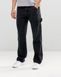 Прямые джинсы ASOS - Выбеленный черный
