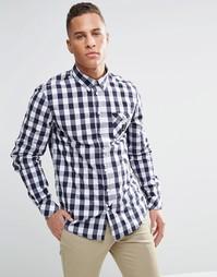 Рубашка слим WeSC Ettis - Синий