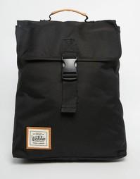Рюкзак с застежкой-ремешком Workshop - Черный