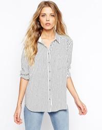 Рубашка в полоску Vila - Белый
