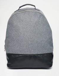 Рюкзак на крупной молнии ASOS - Черный