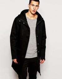 Неопреновая куртка с капюшоном 2xH Brothers - Черный