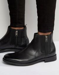 Ботинки челси на молнии Diesel Anklook - Черный