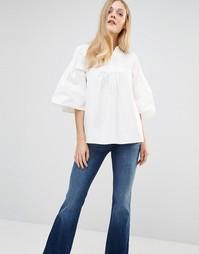 Топ M.i.h Jeans May - Белый