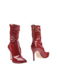 Красные Полусапоги и высокие ботинки Larianna