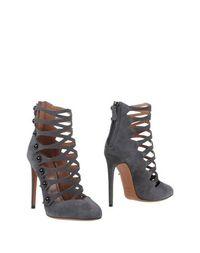 Серые Полусапоги и высокие ботинки AlaÏa
