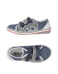 Низкие кеды и кроссовки Moschino Teen