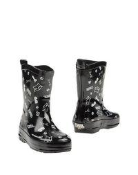 Черные Полусапоги и высокие ботинки Karl Lagerfeld