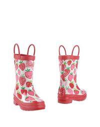 Красные Полусапоги и высокие ботинки Hatley