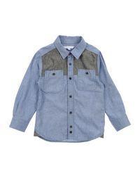Джинсовая рубашка Little Marc Jacobs
