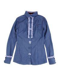 Джинсовая рубашка Harmont&;Blaine
