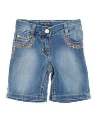 Джинсовые бермуды Blumarine Jeans