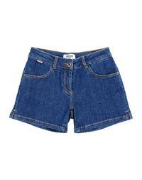 Джинсовые шорты Moschino Teen