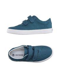 Низкие кеды и кроссовки Burberry Children