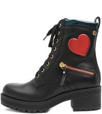 Черные Ботинки Love Moschino