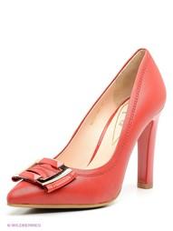 Красные Туфли Moda Donna