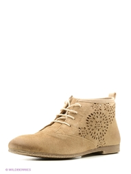 Бежевые Ботинки Marco Tozzi