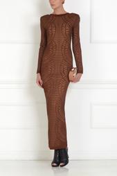 Платье в пол Balmain