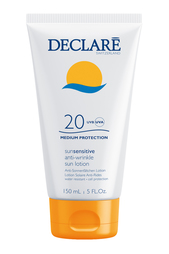 Солнцезащитный лосьон Anti-Wrinkle Sun Lotion SPF20, 150ml Declare
