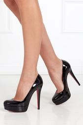Черные Туфли из лакированной кожи Bianca 140 Christian Louboutin
